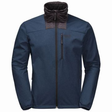 SKY POINT JACKET M DARK INDIGO XL מעיל סופטשל