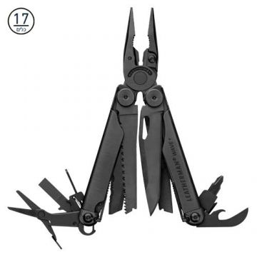 לדרמן LEATHERMAN WAVE PLUS מושחם