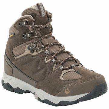 MTN ATTACK 6 TEXAPORE MID W COCONUT BROWN / GREY 8   נעל
