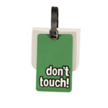 DON'T TOUCH תג מזוודה