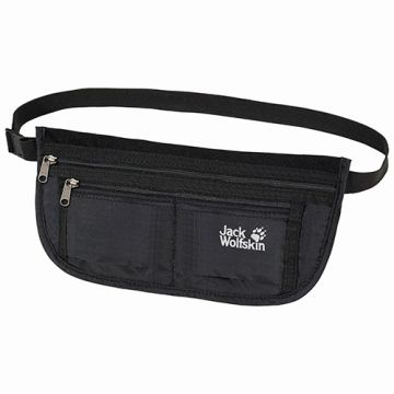 חגורת כסף  DOCUMENT BELT-BLACK-ONE SIZE