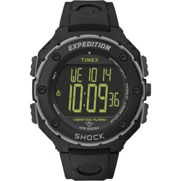 שעון TIMEX SHOCK דיגיטאלי שחור דגם TS49950